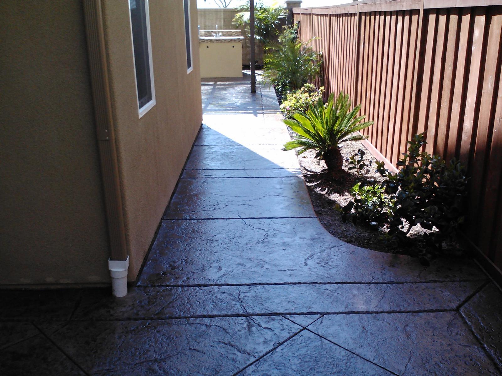 Sidewalk Concrete Contractor Encinitas, Pathway Walkway Concrete Company