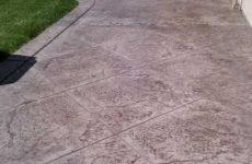 Stamped Concrete Patio Encinitas